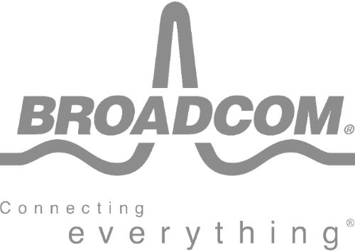 Broadcom Logo B&W - NBASE-T