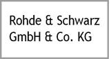 Logo of Rohde Schwarz